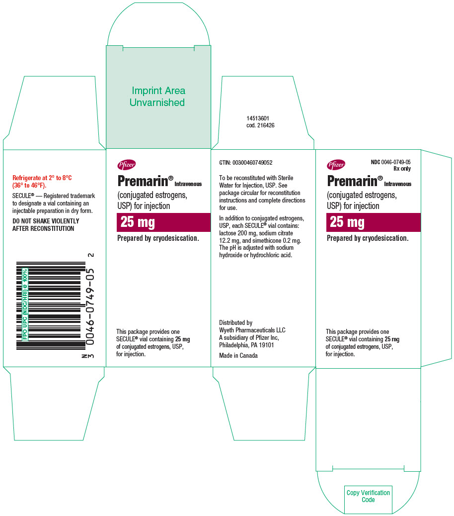 PRINCIPAL DISPLAY PANEL - 25 mg Vial Carton